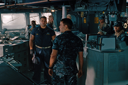 A scene from ``Battleship.''